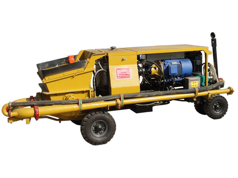 wet type shotcrete machine