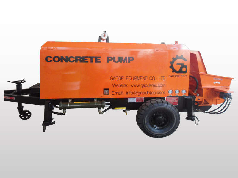 diesel portable and stationary concrete pump