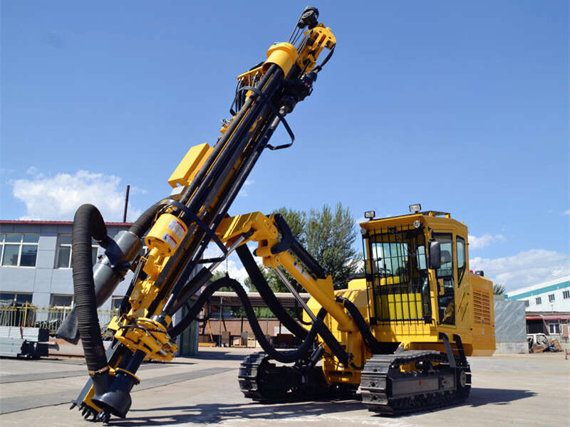 automatic dth drilling rig
