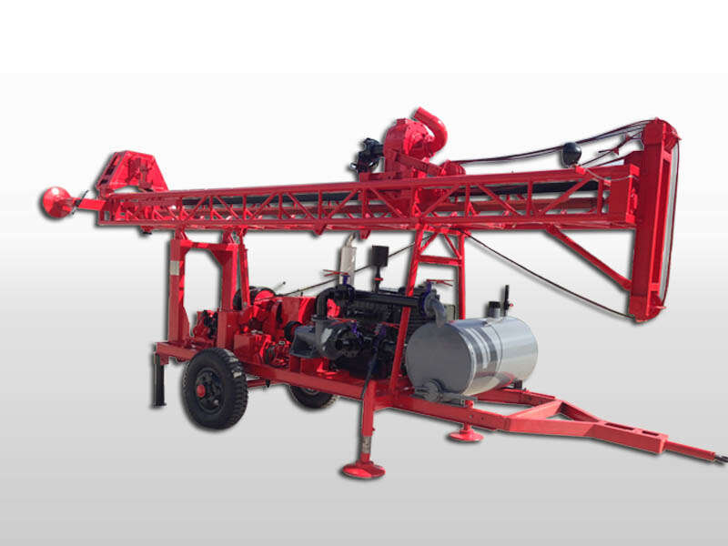 diesel water well drilling machine