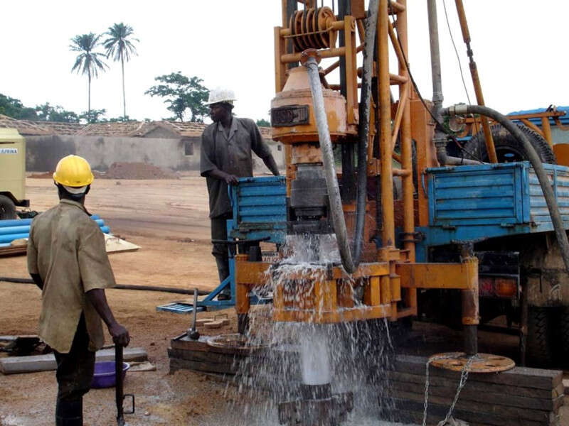 water well drilling machines