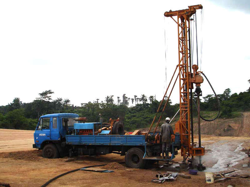 truck mounted water well drilling machines