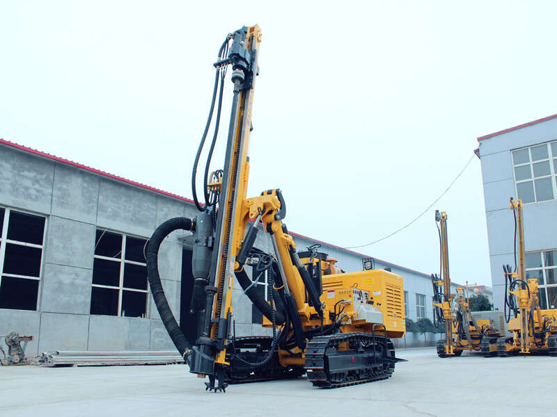 hydraulic rock dth drilling rig