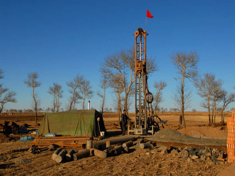 water well drilling machine