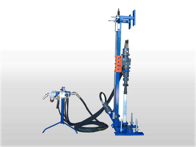 DTH drilling machine for blast-hole