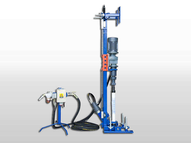 portable DTH drilling machine