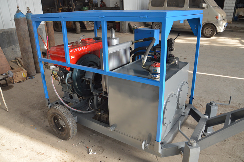 diesel hydraulic power pack
