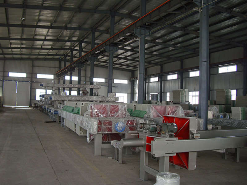hydraulic automatic filter press