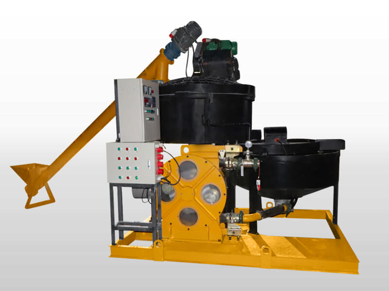 auto-weighing system foam concrete machine