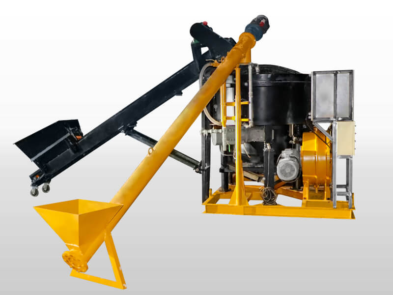 foam concrete machine for roof and floor insulation