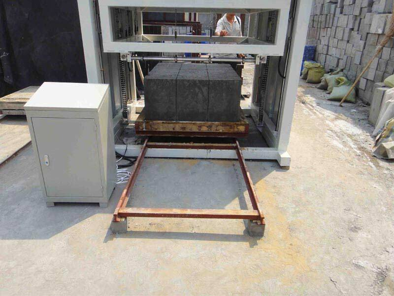 Gw30b foam concrete block wire cutting machine for Styrofoam cement blocks