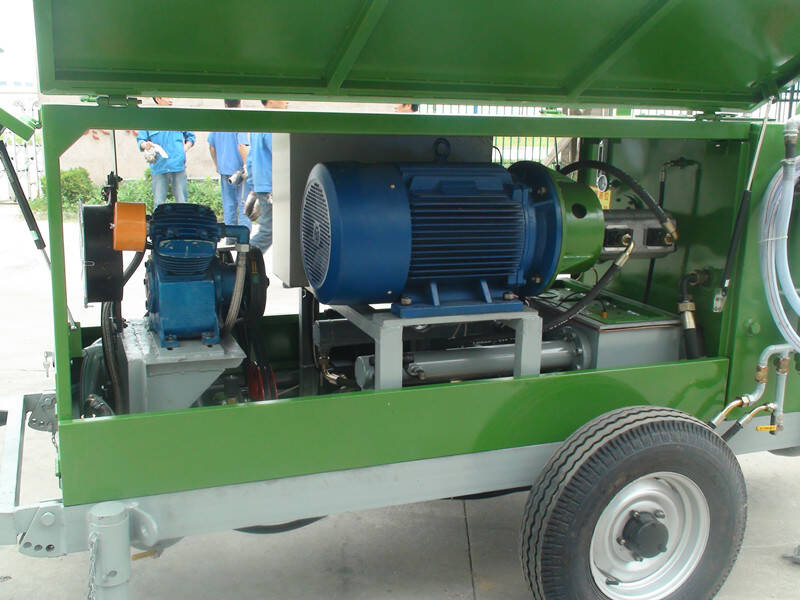 GF35B foam concrete machines