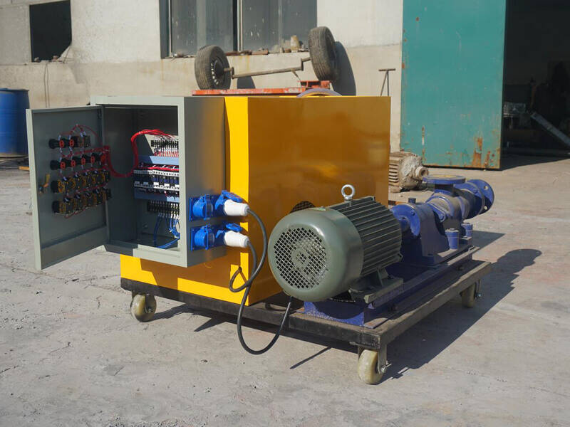 clc machine for floor heating