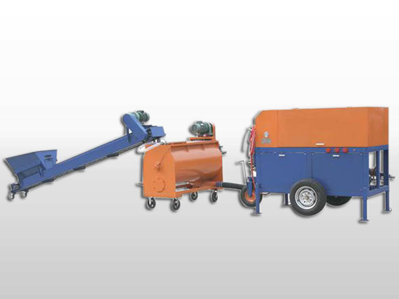 Cellular Lightweight Concrete Machines : Foam concrete mixer light weight