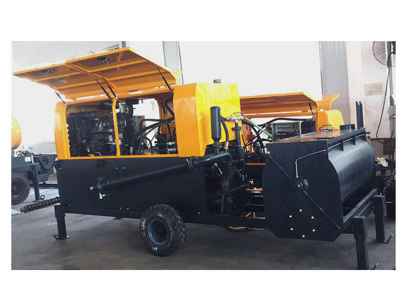 diesel foam concrete equipment