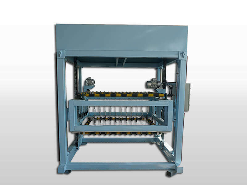 foam concrete block cutting machine