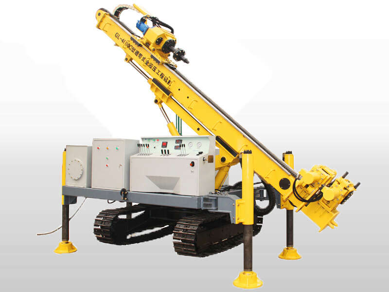 full hydraulic crawler jet grouting anchor DTH drilling rig