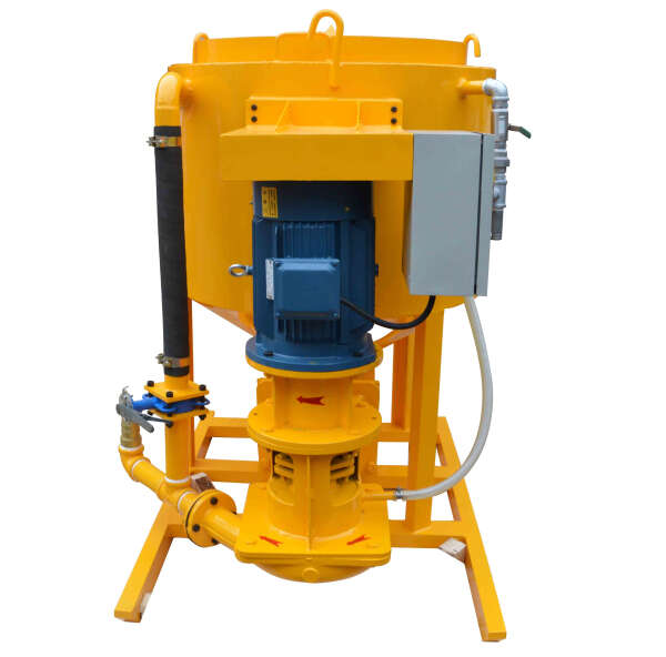 High shear grout mixer