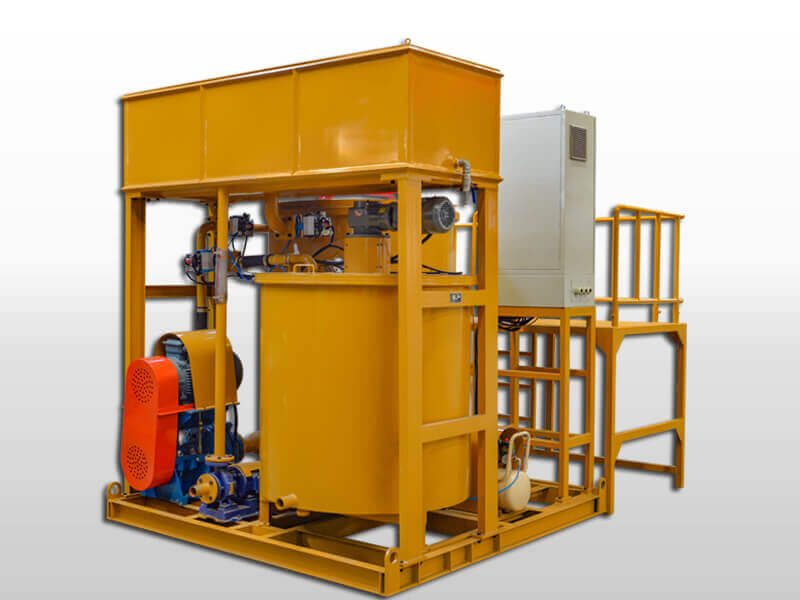 colloidal grout turbo mixer