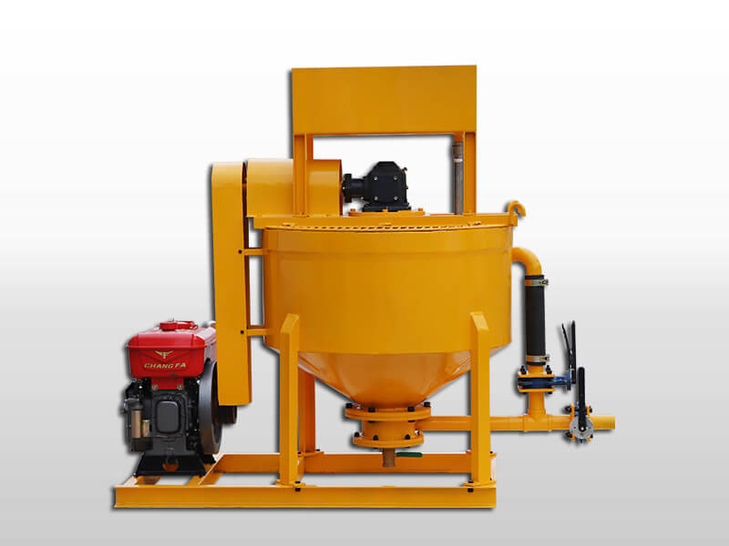 diesel cement grout mixer agitator