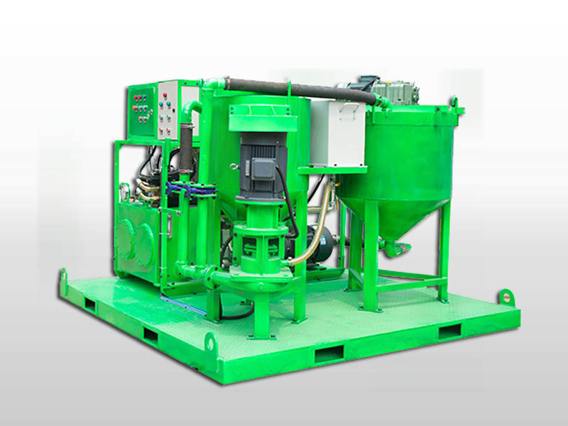 injection grout plant