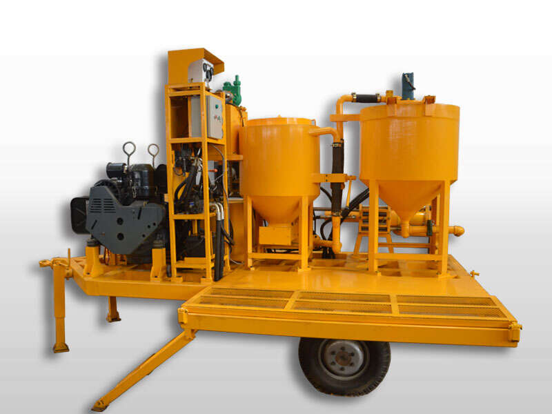 grouting injection plant