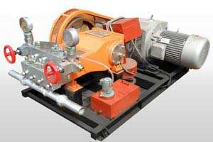 large output grouting pump