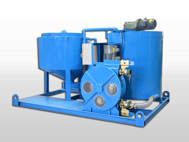 electric motor grout plant
