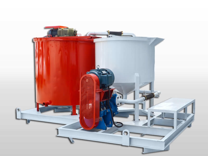 cement slurry grout mixer