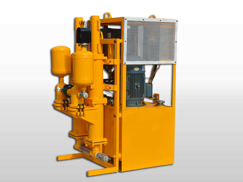 double plunger hydraulic grout pump