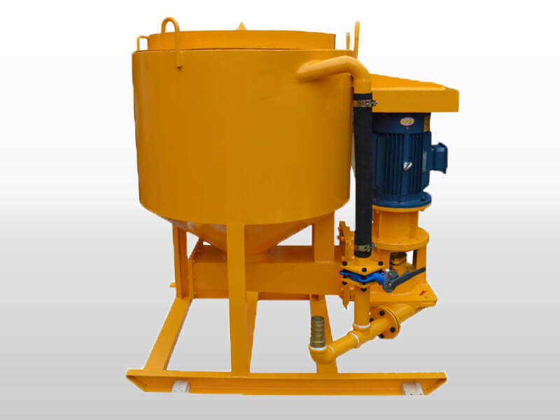 wing shaft type grout mixer