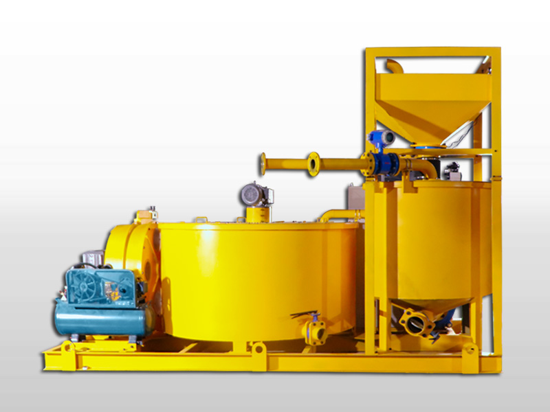 Grout mixer and pump for backfilling