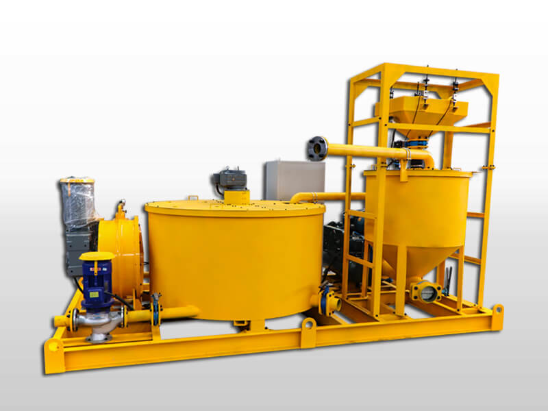 grout mixing and pumping machine