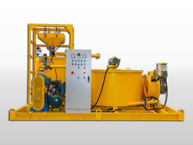 grout mixing and pumping system for sale