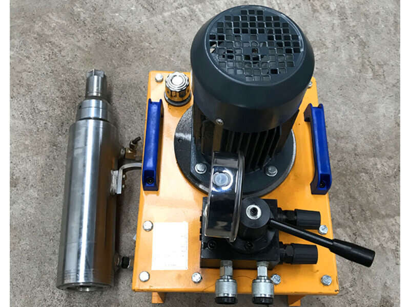 mono jack with electric pump