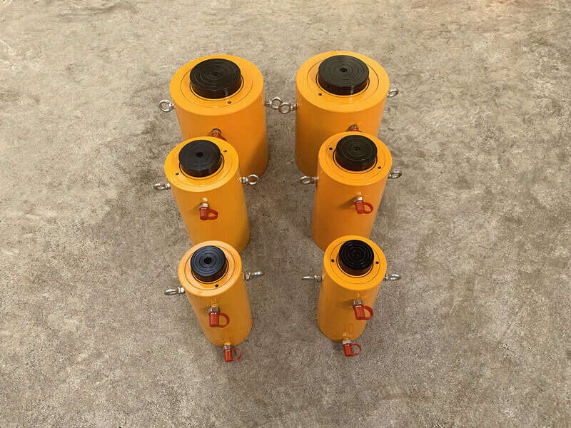 double acting hydraulic jack with electric pump