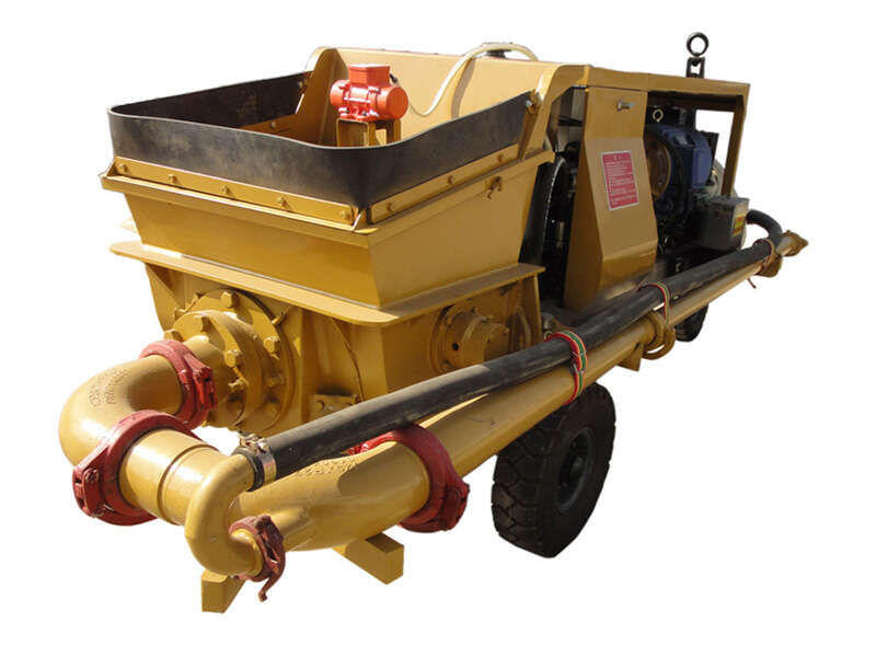 hydraulic shotcrete pump
