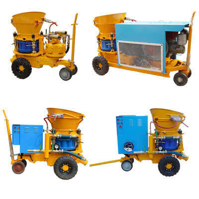 portable shotcrete machine for sale