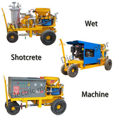 wet mix shotcrete machine for-sale