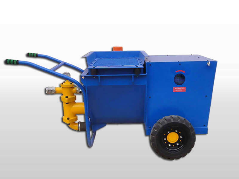 mortar spraying machine for wall