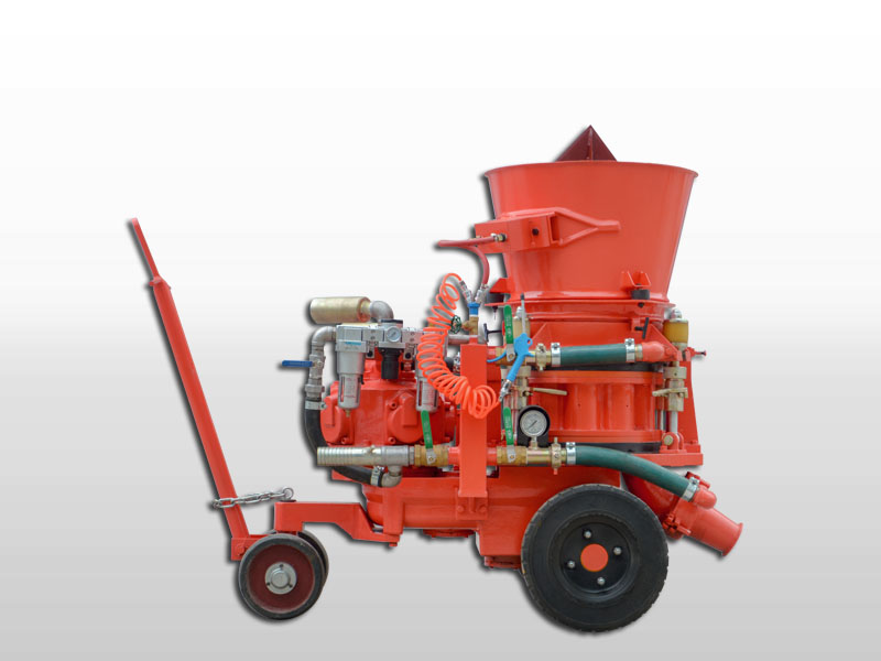 gunning machine for refractory