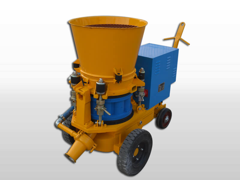 refractory castable gunning machine