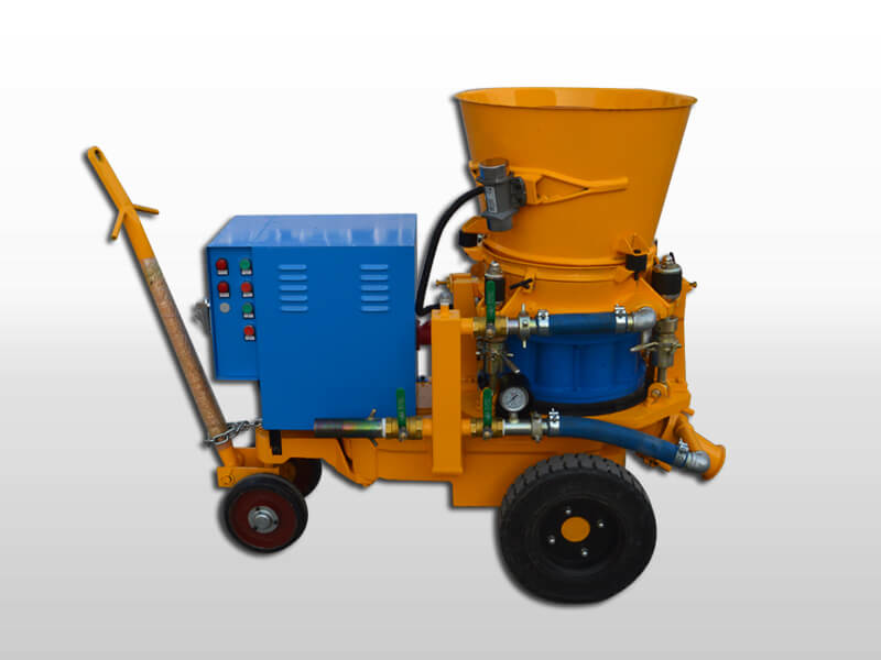 refractory gunning machine for for furnaces