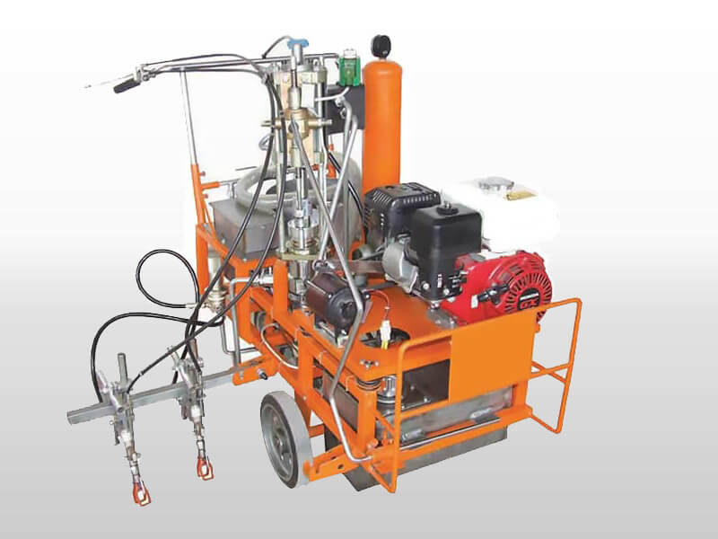 high pressure airless cold paint road marking machine