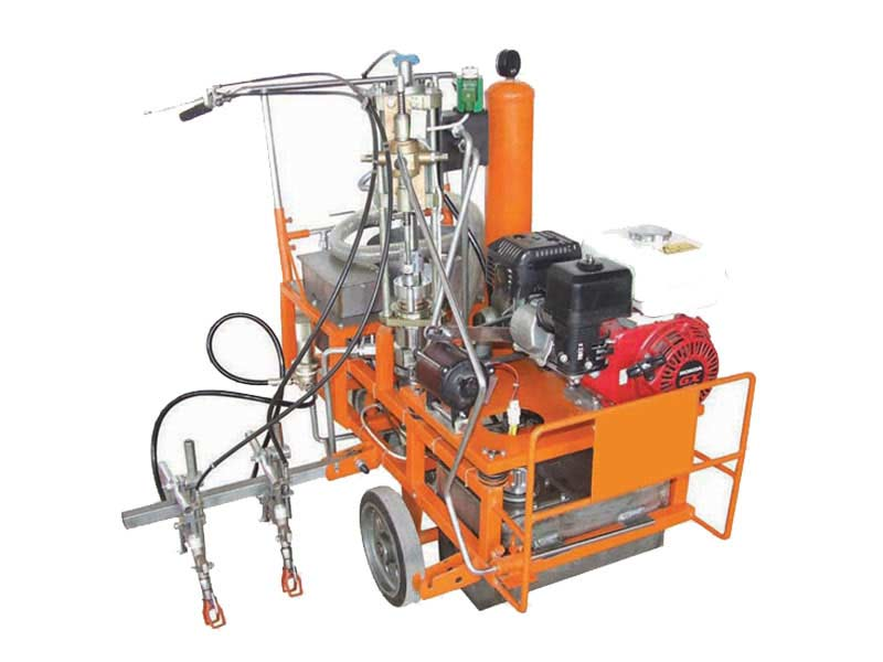 airless cold paint road marking machine