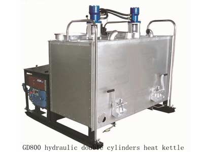 hydraulic thermoplastic kettle