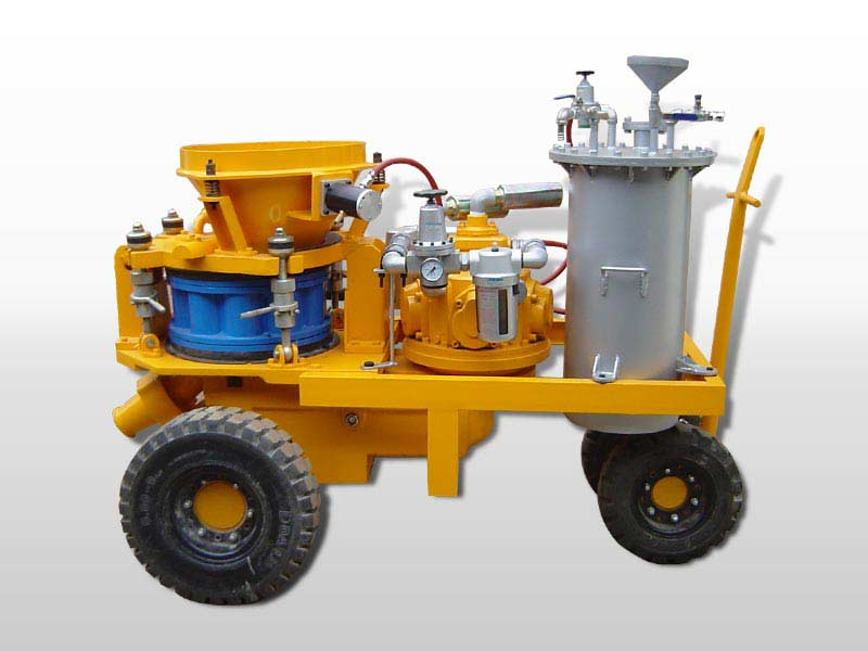 wet gunite machine
