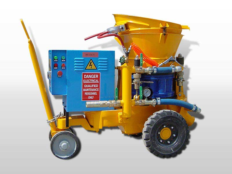 dry shotcrete equipment