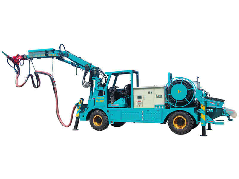 wet shotcrete system equipment