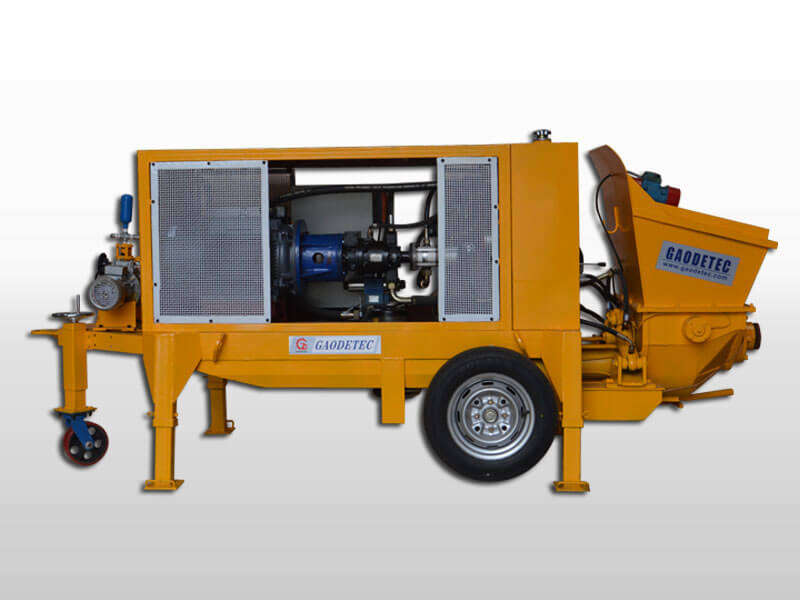 air motor wet shotcrete machine